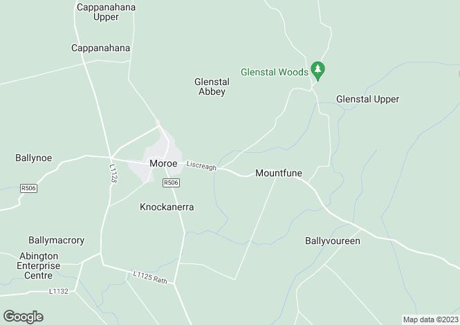 Map for Glenstal, Murroe, Limerick