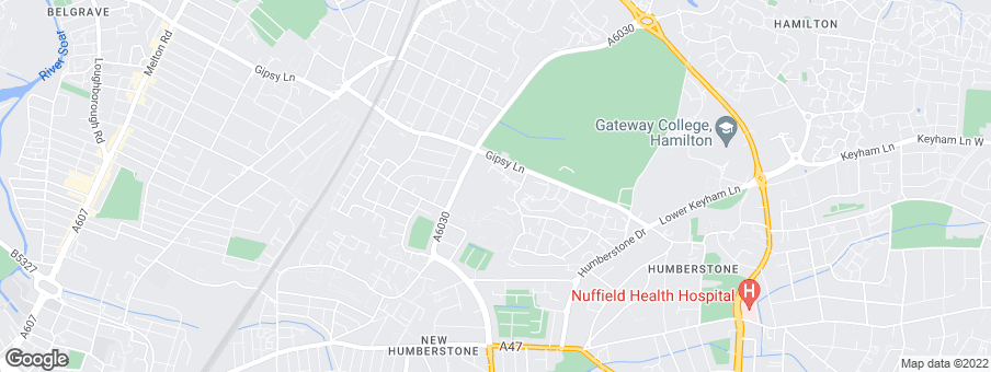 Map for Hazelton Homes