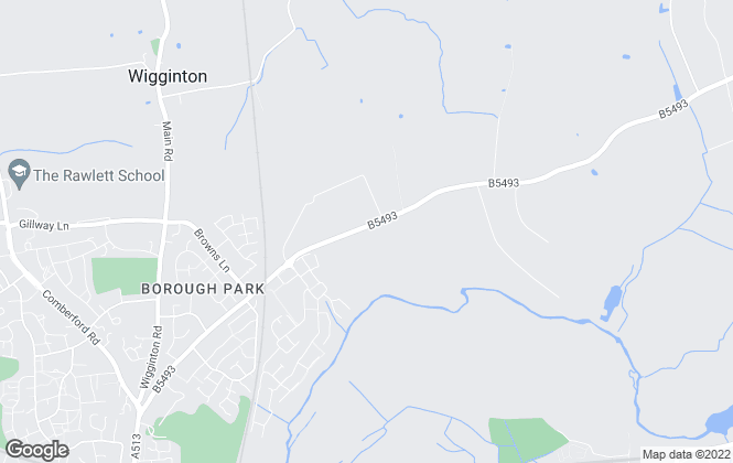 Map for Ashberry Homes (East Midlands)