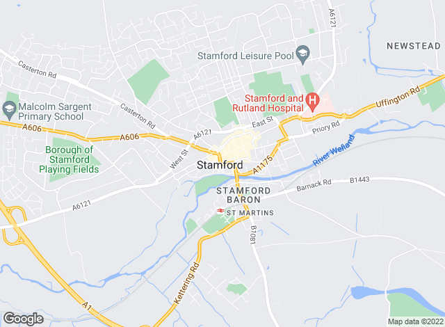 Map for Goodwin Property Services, Stamford