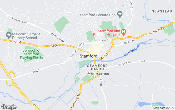 Map for Moores Estate Agents, Moores Lettings - Stamford