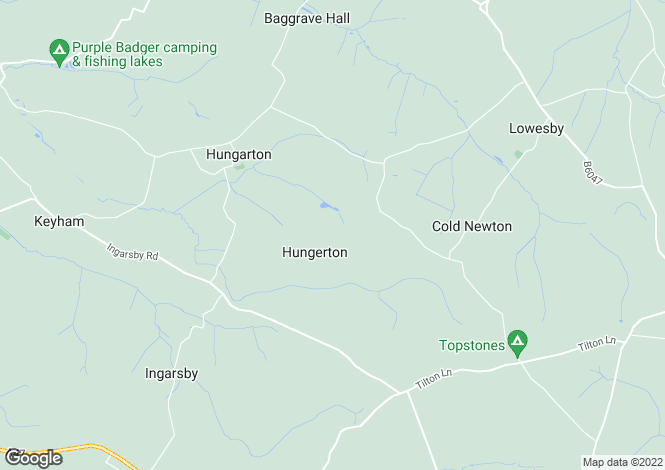 Map for Quenby Hall, Hungarton Road, Hungarton, Leicester, Leicestershire, LE7 9JF