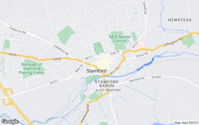 Map for Osprey Property, Stamford