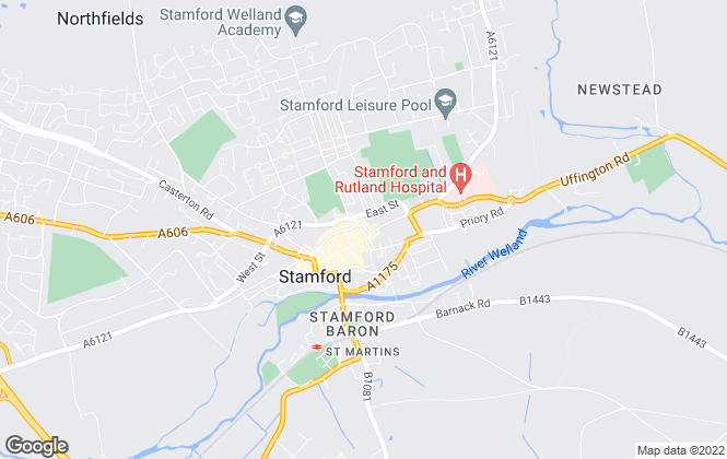 Map for Sowden Wallis Estate Agents, Stamford