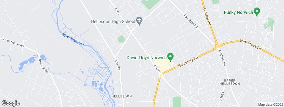 Map for Persimmon Homes Anglia