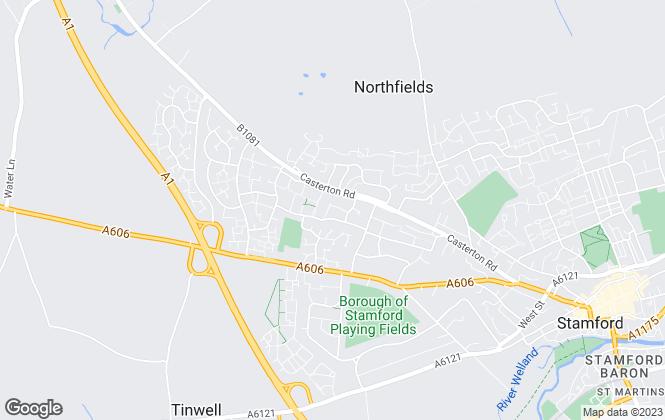Map for EweMove, Stamford