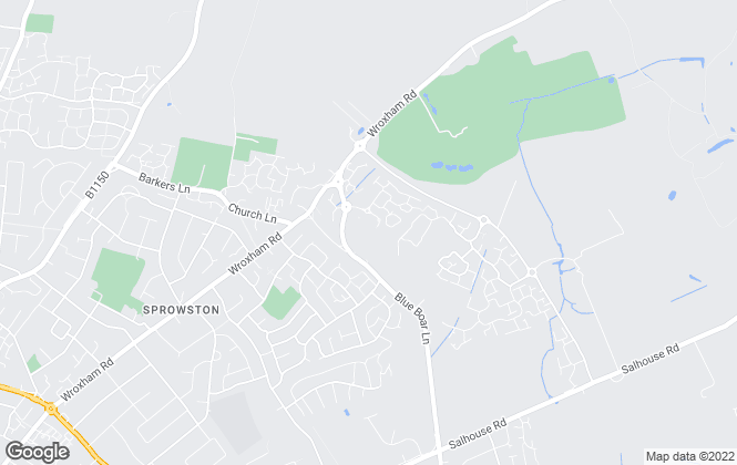 Map for William H. Brown, Sprowston