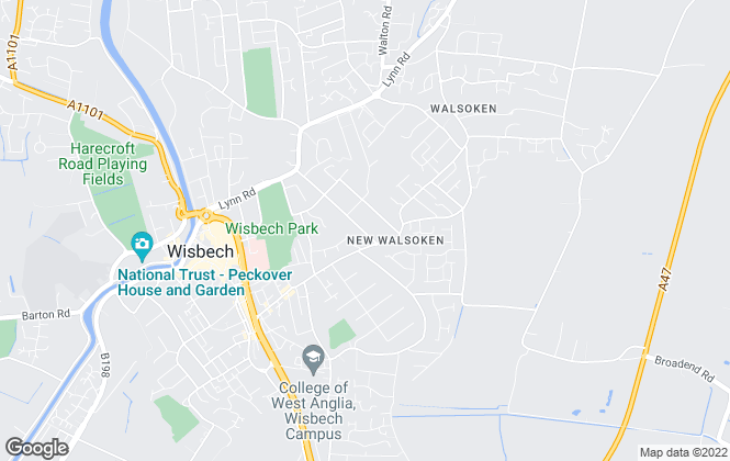 Map for Business Connect, Wisbech