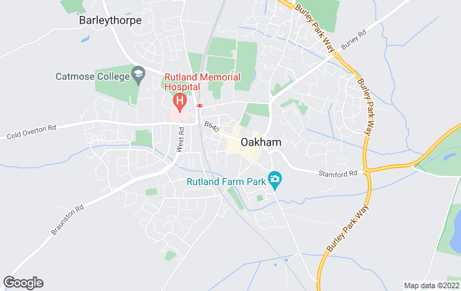 Map for Kirk Estates, Rutland