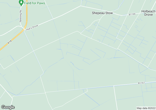 Map for Daniels Drove, Crowland, Peterborough, PE6 0NG