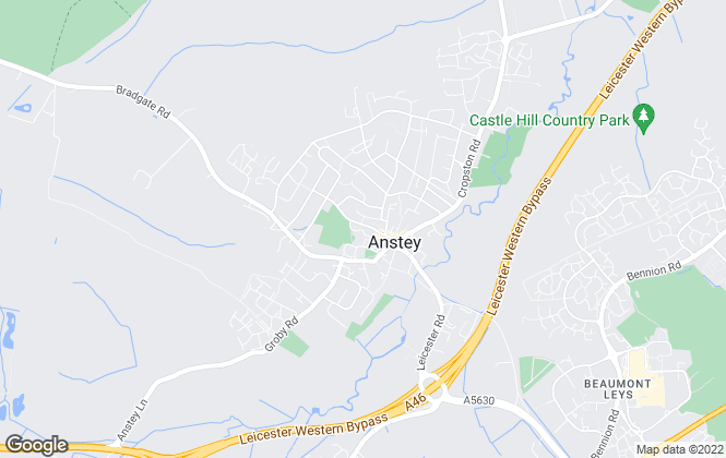 Map for Tranquility Homes T/A Leicestershire Lettings and Sales, Anstey