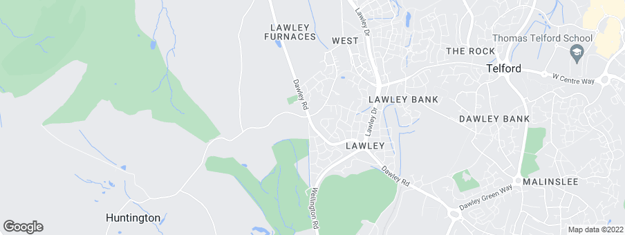 Map for Lawley Farm development by Taylor Wimpey