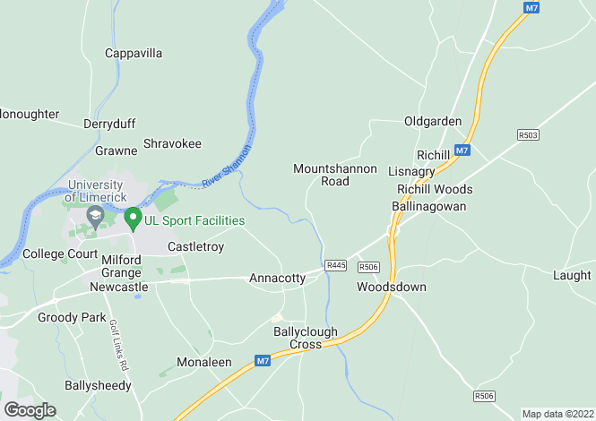 Map for Ballyvolane, Annacotty, Co. Limerick