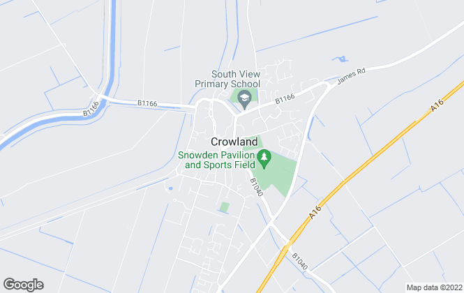 Map for A&H Smith Estate Agents , Crowland