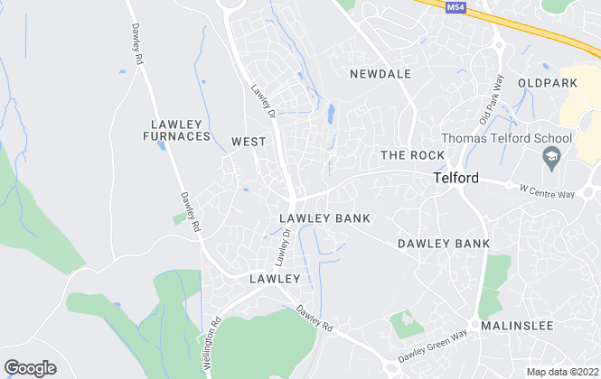 Map for Foden Property Ltd, Lawley