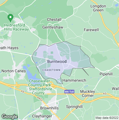 Map of property in Burntwood