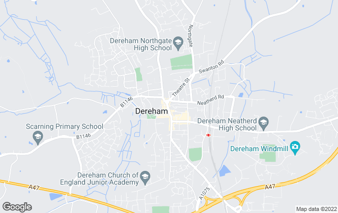 Map for hammondlee, Dereham