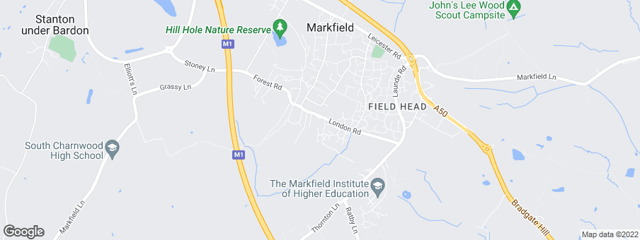 Map for Midlands Shared Ownership