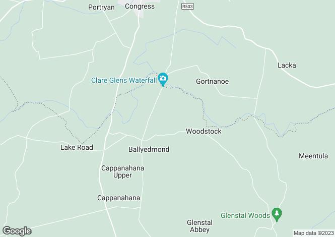 Map for Ashroe, Murroe, Co. Limerick