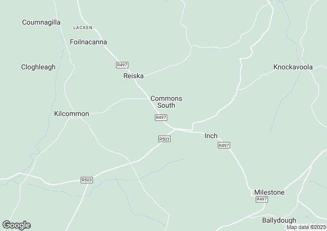 Map for Reiska, Kilcommon, Tipperary