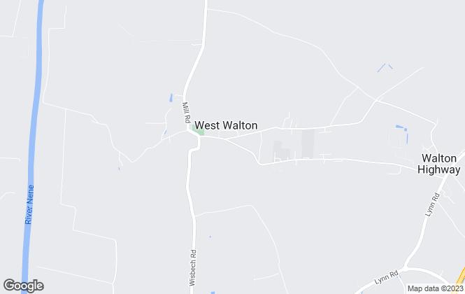 Map for Hockeys, Wisbech