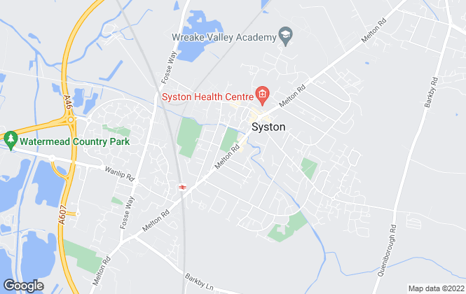 Map for Aston & Co, Syston