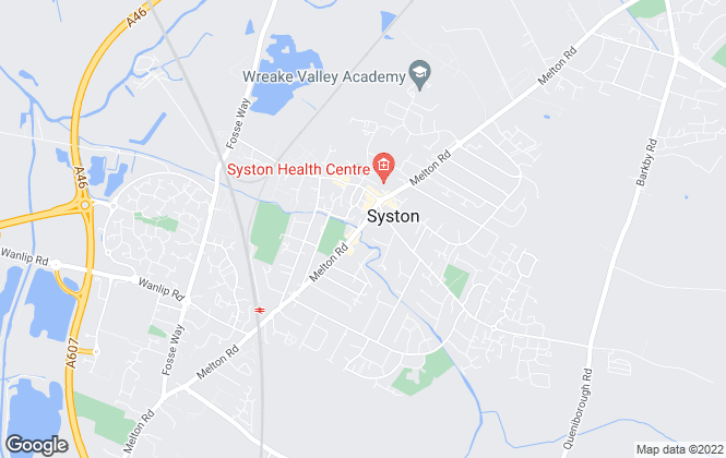 Map for Spencers Estate Agency, Syston