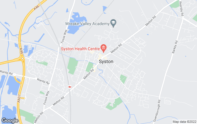 Map for Nest Estate Agents, Syston - Sales
