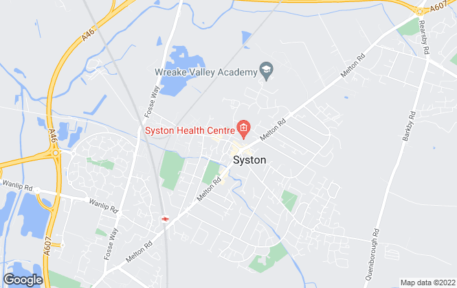 Map for Harrison Murray, Syston