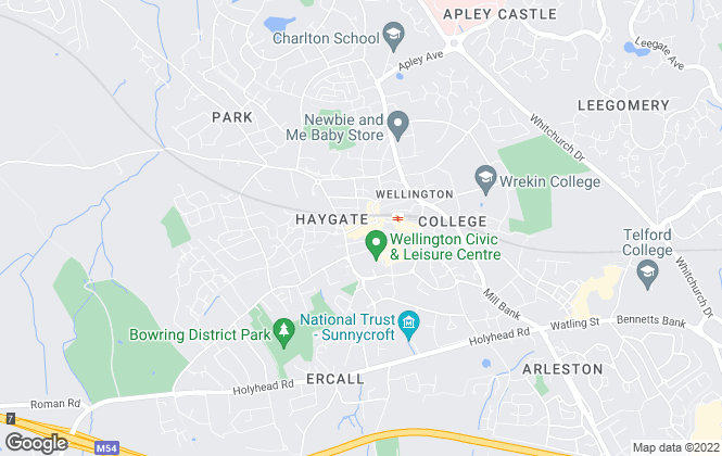 Map for Harwood The Estate Agents, Telford