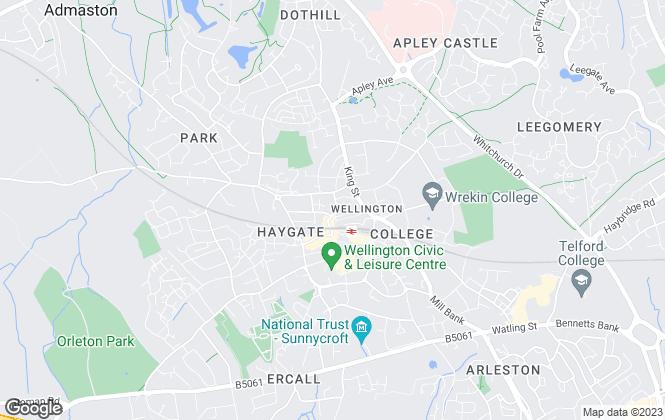 Map for Coleman Estates, Wellington - Sales
