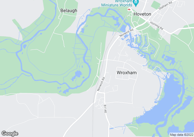 Map for Wroxham