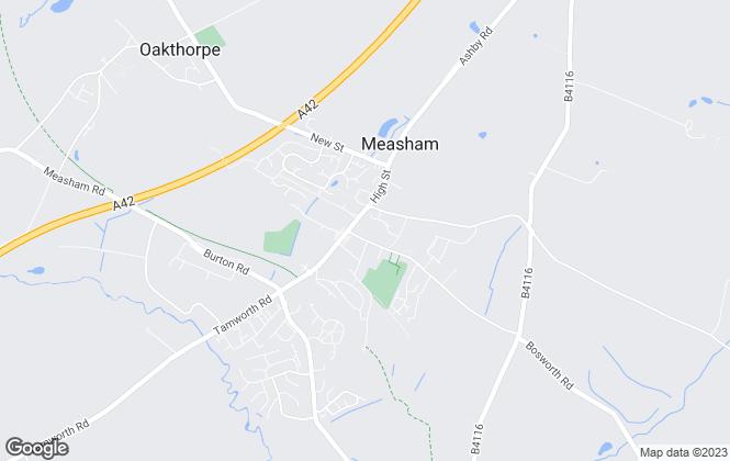 Map for Howland Jones, Measham