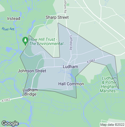 Map of property in Ludham
