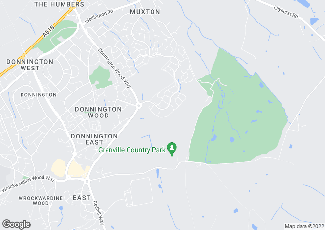 Map for Cookson Close, Muxton, Telford