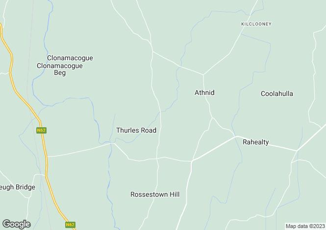 Map for Coolgarrane House, Coolgarrane, Thurles, Co. Tipperary, E41 FK27