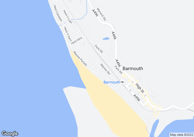 Map for FLAT 7 BEACHSIDE 