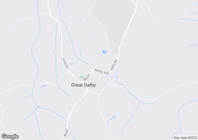 Map for Great Dalby, Leicestershire
