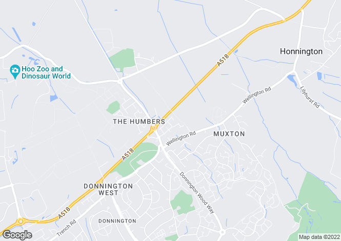 Map for Bloomsbury Court, Donnington, Telford, TF2