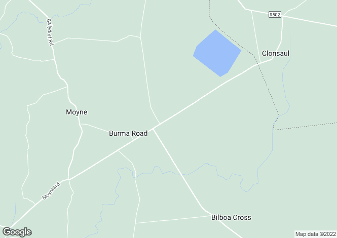 Map for Cooleeney, Moyne, Thurles, Co. Tipperary, E41 RR99
