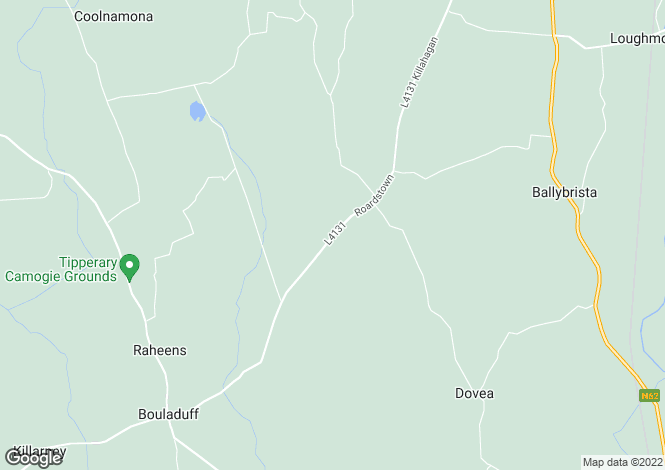 Map for Dovea Lower, Bouladuff, Thurles, Co Tipperary