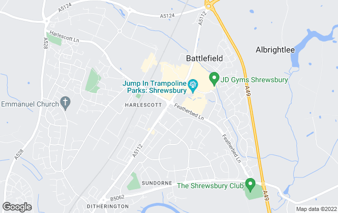 Map for The Property Advantage, Shrewsbury