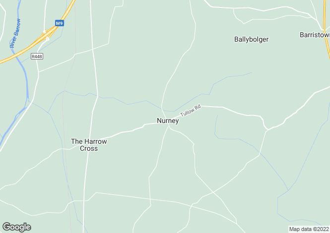 Map for The Nurney Inn & Bungalow, Nurney, Carlow
