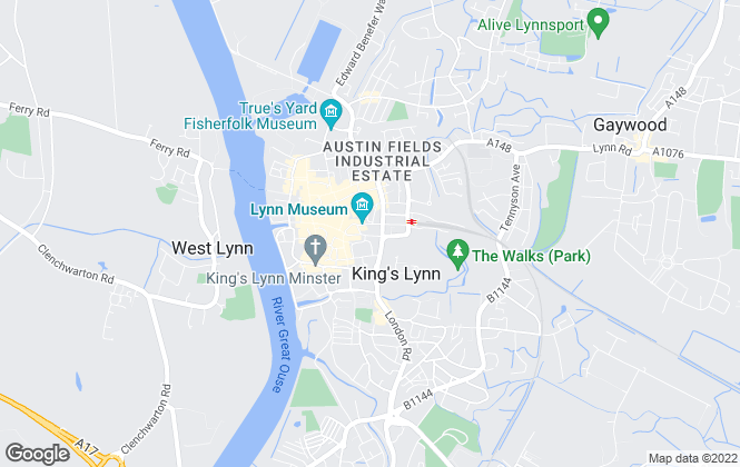 Map for Landles, Kings Lynn