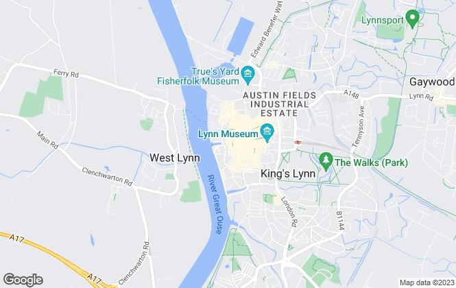 Map for Wilson & Betts , Kings Lynn