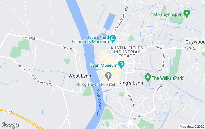 Map for William H. Brown, King's Lynn