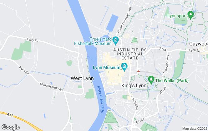 Map for RUSSEN & TURNER LIMITED, Kings Lynn