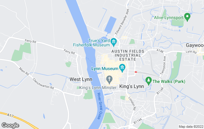 Map for William H. Brown - Lettings, Kings Lynn  Lettings