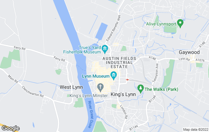 Map for My House Online, Kings Lynn