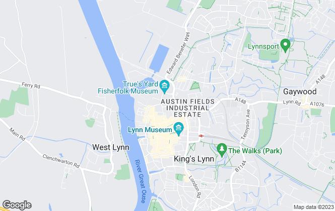 Map for Freebridge Community Housing, Lettings Team